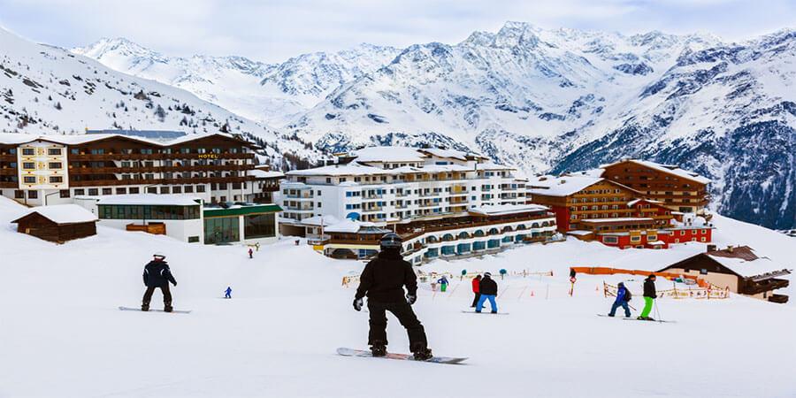 スキー場出会い